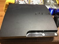 PS 3 Slim console Bundle. Multiple games 2 remotes and all wires are included. Console like new.. Buchanan, 10511