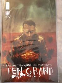 Ten Grand Comics issue 1and 2