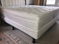 white and gray floral mattress ALEXANDRIA