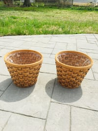 Natural Woven Plant Baskets Alexandria, 22311