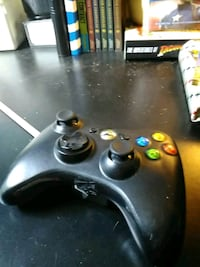 black Xbox 360 game controller Burke, 22015