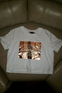 Tshirt white/rose gold