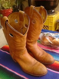Texas Leather Boots fine detail on them really goo Victoria, V8T 3Y9