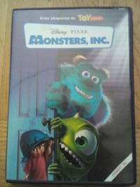 Disney Pixar Monsters, INC DVD Göteborg, 416 59