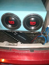 Custom built monsters these are Rockford fosgate T2 12s  Southgate