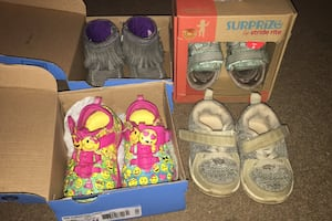 Toddler size 4 shoe bundle