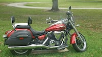 black and red cruiser motorcycle Texas, 77339