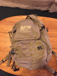 Brown and gray the north face backpack Frederick, 21702