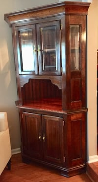 brown wooden cabinet with mirror Springfield, 22152