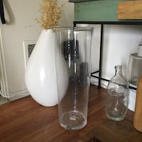 """Tall Vase 25"""" high from LSA glass Los Angeles, 90004"""