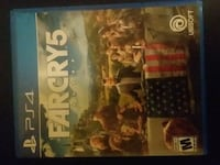 Ps4 game farcry 5 no scratches or smudges on disc  Berkeley Springs, 25411