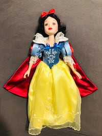 "Disney Snow White 16"" Porcelain Doll West Springfield, 22152"