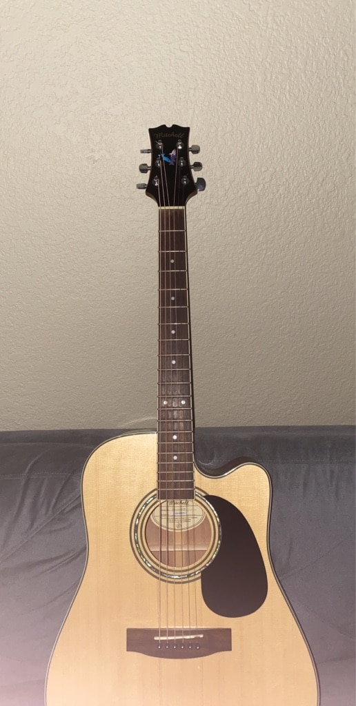 Photo Mitchell MD-100SCE Acoustic Guitar