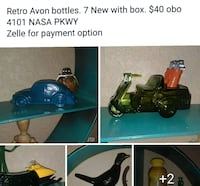 Avon bottles. Full with boxes