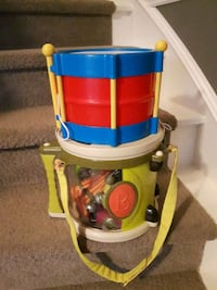 Baby/toddler drum and musical kit London, N6H 4W9