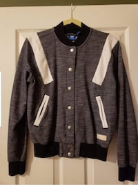 black and white button-up jacket Gilberts, 60136