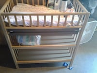 Wooden changing table Bloomington, 92316