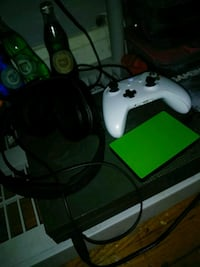 Xbox one s with controller and hard drive full