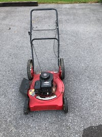 red and black push mower Williamsport, 17701