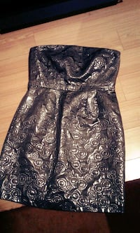 women's black and brown floral sleeveless dress Surrey, V3R