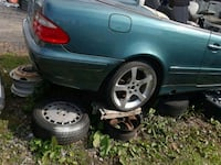 2002 Mercedes Benz for parts good engine.good tran 24 mi