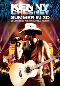 Kenny Chesney Summer in 3d dvd New factory sealed  Edmonton
