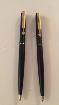 Parker pencil and pen  made in England Toronto, M3M