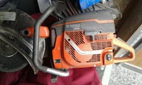 white and orange Stihl chainsaw Milton, L9T 6M4