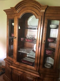 French Country Solid Wood hutch