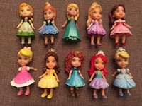 10 Disney Sparkling Mini Toddlers Doll Collection Ajax, L1T 1V1