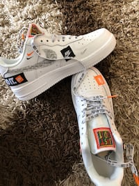 """Nike Air Force """"Just do It"""" 7198 km"""
