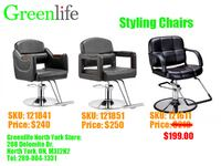 Salon/Styling/Barber Chair/Stool, Shampoo Unit, From$199! 多伦多