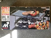 New sizzle stone tabble top grill Milpitas, 95035