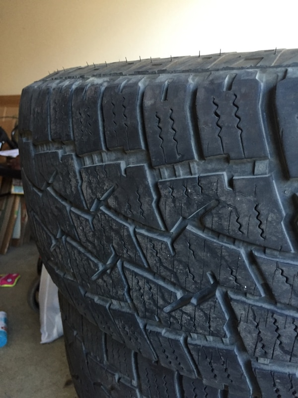 Used Back Country All Terrain Tires 265 75r16 For Sale In Portland