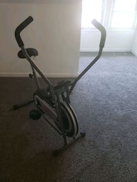 Stationary bike (handles move)