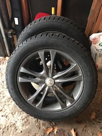 "17"" Alloy Rims with winter tires Barrie"