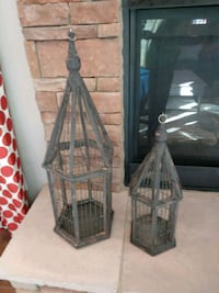 Brand New Wood Bird Cage Set  Bowie, 20720
