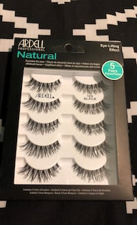 Ardell natural lash 5 pair set!