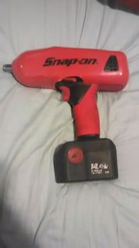 Snap-on 18v 1/2 drive impact with 14.4 AH battery.