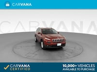 2016 Jeep Cherokee suv Latitude Sport Utility 4D RED Jamaica
