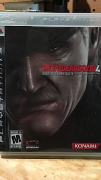 Metal gear solid 4 for PS3 Crownsville, 21032
