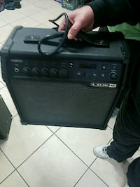black and gray Fender guitar amplifier Central Islip, 11722