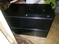 2-DRAWER BLACK LATERAL FILE CABINET  Forest Hill, 21050