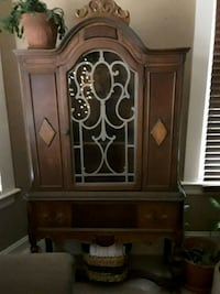brown wooden cabinet with drawer New Bedford, 02745