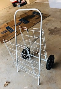 WIRE GROCERY CART!