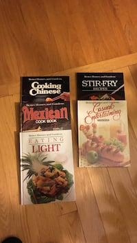 Cook books - 5.00 for all 5 590 mi