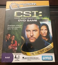 CSI DVD Game Belleville, K8N 4Z5