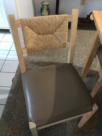 """Brown table & 4 chairs. Excellent condition.table is 57"""" L 29"""" W 29"""" H Marietta, 30068"""