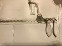 white leather Michael Kors tote bag North Little Rock, 72118