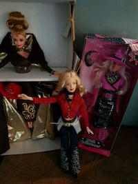 Barbies. (3). Cowgirl, Pink Halloween and Elegant 3116 km